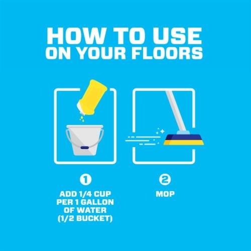 Mr. Clean Summer Citrus Antibacterial Multi-Purpose Liquid Cleaner Perspective: left