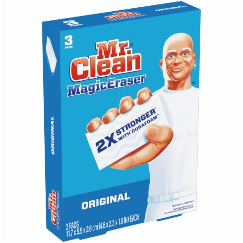Mr. Clean Original Magic Eraser Perspective: left