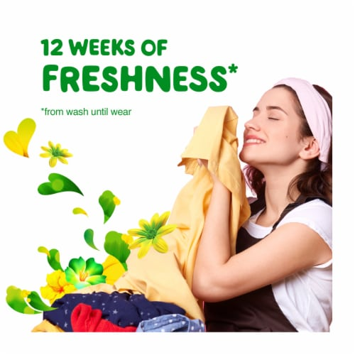 Gain Fireworks Original In-Wash Scent Booster Beads Perspective: left