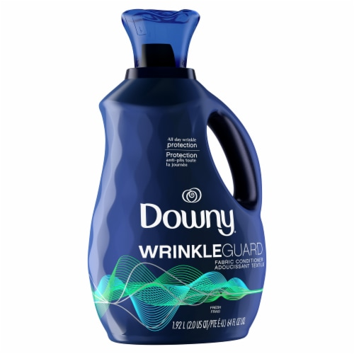 Downy Fresh Wrinkle Guard Fresh Fabric Conditioner Perspective: left