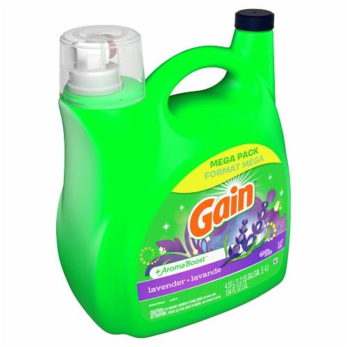 Gain® Lavender Liquid Laundry Detergent Perspective: left