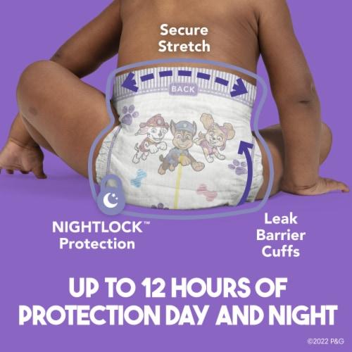 Luvs Triple Leakguards Size 5 Diapers Perspective: left