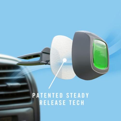 Febreze Auto Original with Gain Scent Air Freshener Car Vent Clip Perspective: left