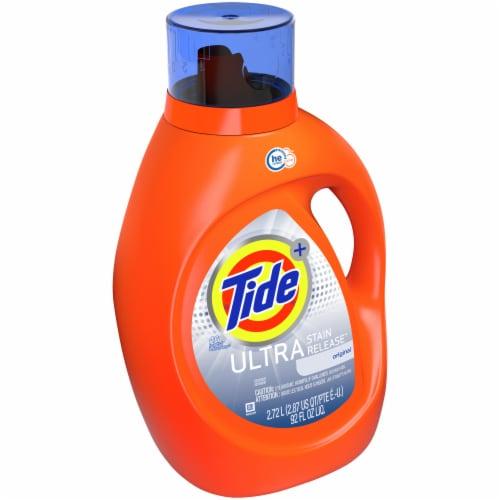 Tide Ultra Stain Release Original Liquid Laundry Detergent Perspective: left