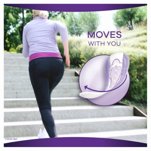 Always Discreet Size 2 Very Light Long Bladder Leak Liners Perspective: left