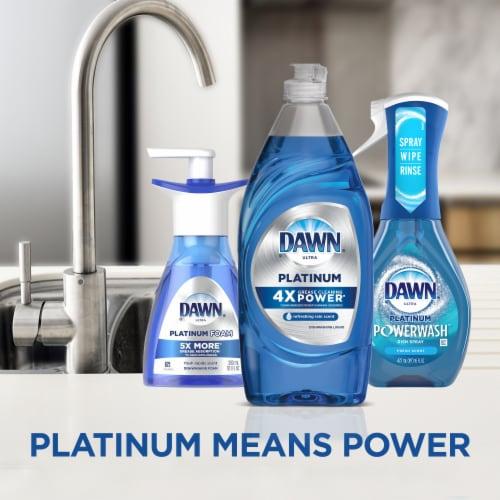 Dawn® Ultra Platinum Refreshing Rain Scent Dish Soap Perspective: left