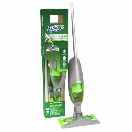 Swiffer® Sweep + Vac Cordless Rechargable Vacuum Starter Kit Perspective: left