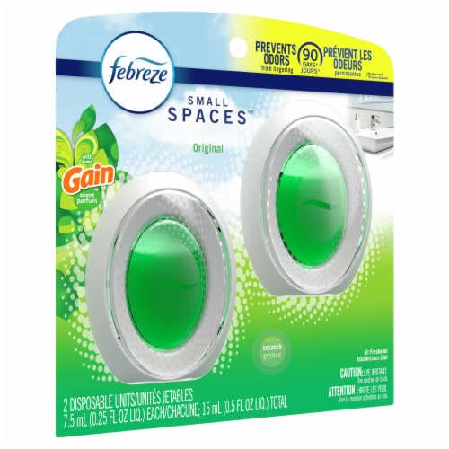 Febreze Gain Small Spaces Orginal Air Freshener Perspective: left
