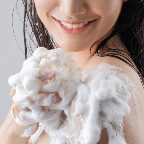 Olay Moisture Outlast Ultra Moisture Shea Butter Beauty Bar for Women Perspective: left