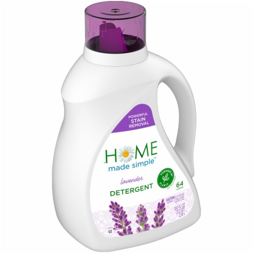 Home Made Simple Lavender Laundry Detergent Perspective: left