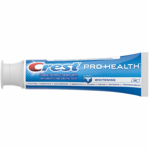 Crest Pro-Health Toothpaste Teeth Whitening Gel Paste Perspective: left
