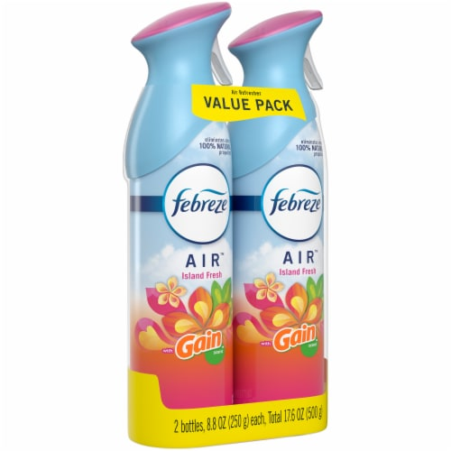 Febreze AIR Effects Gain Island Fresh Air Refresher Value Pack Perspective: left