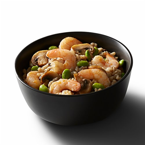 Good Neighbor Seafood Co. Mushroom Risotto Shrimp Bowl Frozen Meal Perspective: left
