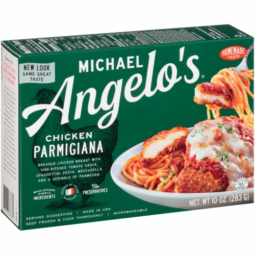 Michael Angelo's Chicken Parmigiana Perspective: left