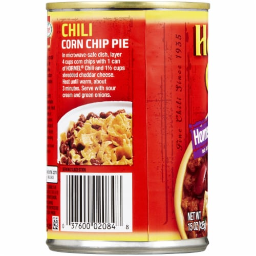 Hormel Homestyle Chili with Beans Perspective: left