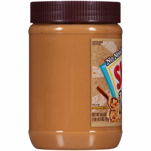 Skippy® Natural Creamy Peanut Butter Spread Perspective: left