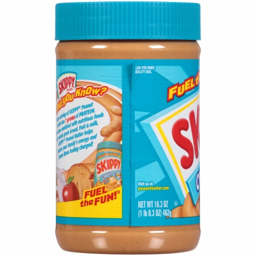Skippy® Creamy Peanut Butter Perspective: left