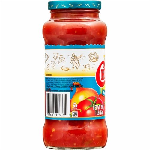 Chi-Chi's Thick & Chunky Medium Salsa Perspective: left