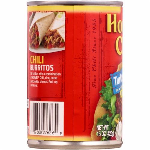 Hormel No Beans Turkey Chili Perspective: left