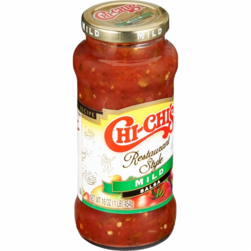 Chi-Chi's Restaurant Style Mild Salsa Perspective: left