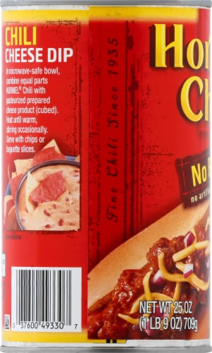 Hormel No Beans Chili Perspective: left