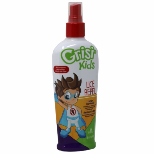 Grisi Kids Lice Repel Lotion Perspective: left