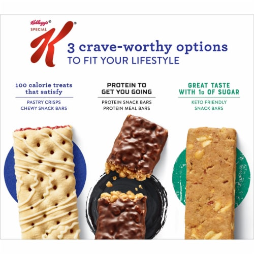 Kellogg's Special K Pastry Crisps Strawberry Perspective: left