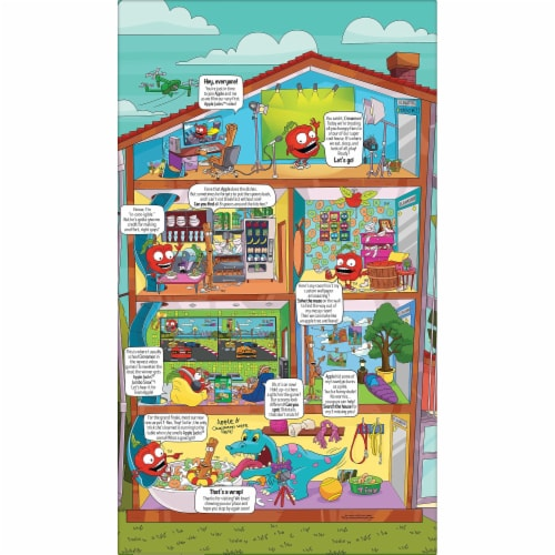 Apple Jacks Apple & Cinnamon Cereal Family Size Perspective: left
