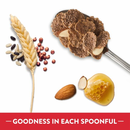 Kellogg's Special K Protein Breakfast Cereal Honey Almond Ancient Grains Perspective: left