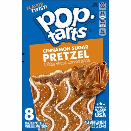 Pop-Tarts Pretzel Cinnamon Sugar Toaster Pastries Perspective: left