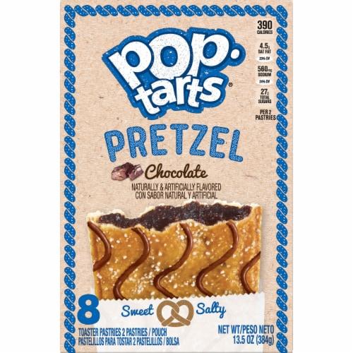 Pop-Tarts Pretzel Chocolate Toaster Pastries Perspective: left