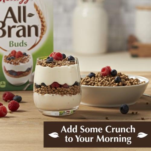Kellogg's All-Bran Buds Breakfast Cereal Original Perspective: left