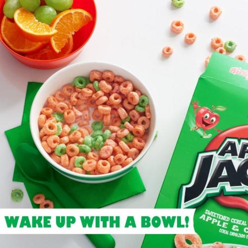 Kellogg's Apple Jacks Breakfast Cereal Original Perspective: left