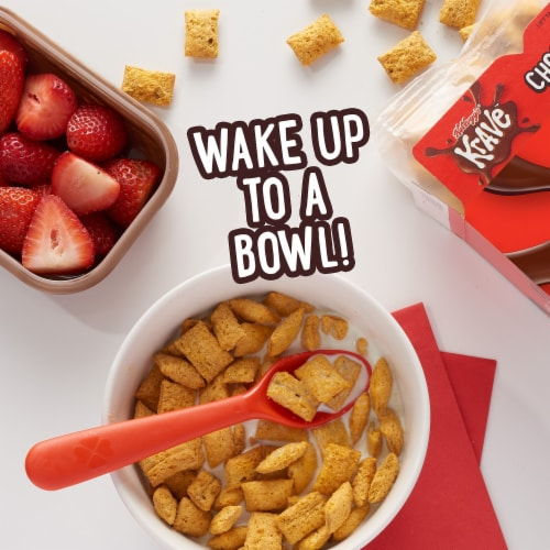 Krave Chocolate Cereal Perspective: left