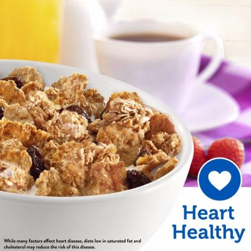 Kellogg's Raisin Bran Crunch Breakfast Cereal Original Perspective: left