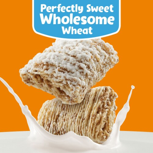 Frosted Mini-Wheats Original Whole Grain Cereal Perspective: left
