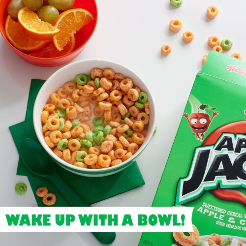 Apple Jacks Apple & Cinnamon Scented Cereal Perspective: left