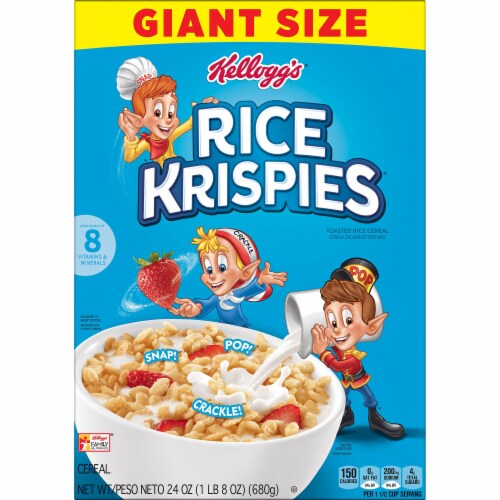 Rice Krispies Cereal Perspective: left