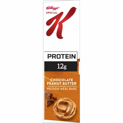 Kellogg's Special K Protein Meal Bars Chocolate Peanut Butter Perspective: left