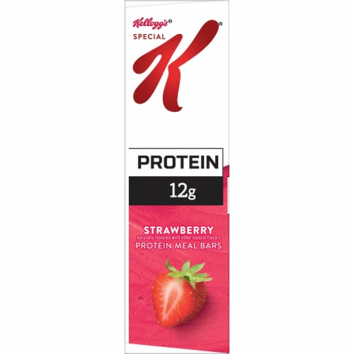 Kellogg's Special K Protein Meal Bars Strawberry Perspective: left