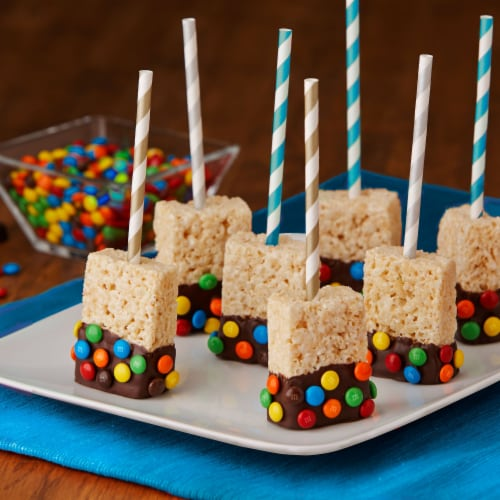 Kellogg's Rice Krispies Treats Marshmallow Squares Original Value Pack Perspective: left