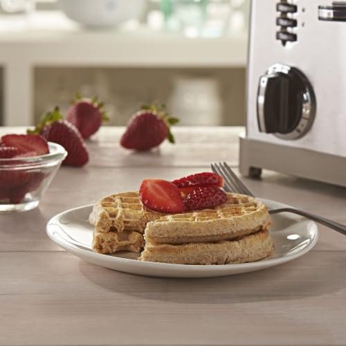 Eggo Nutri-Grain Frozen Breakfast Waffles Original Perspective: left