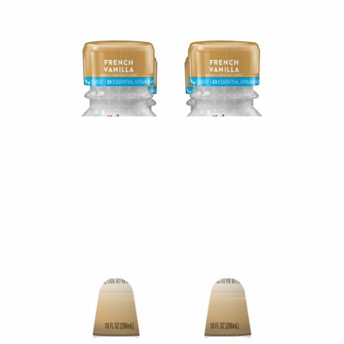 Special K French Vanilla Protein Shakes 4 Bottles Perspective: left