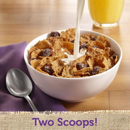 Raisin Bran Cereal Perspective: left