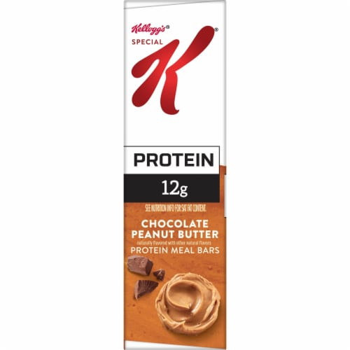 Special K Chocolate Peanut Butter Protein Meal Bars Perspective: left