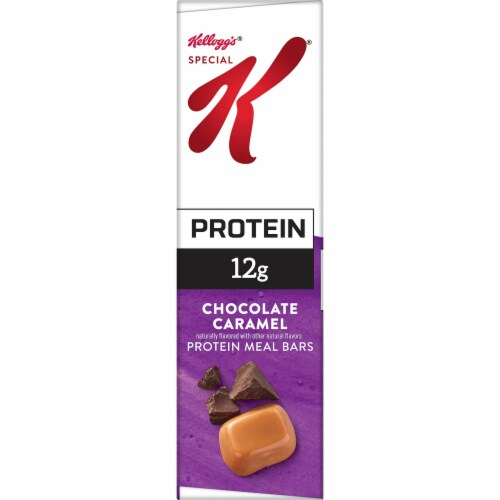 Kellogg's Special K Chocolate Caramel Protein Meal Bars 12 Count Perspective: left