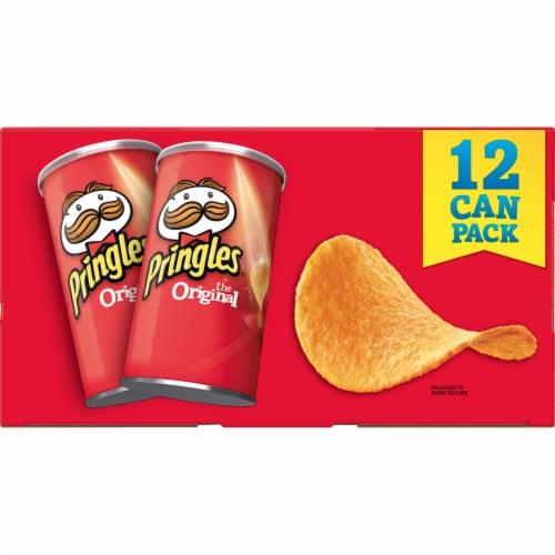 Pringles Potato Crisps Chips Original Multi-Pack Perspective: left