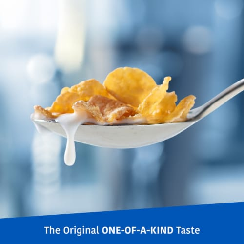 Frosted Flakes Cereal 2 Bag Box Perspective: left
