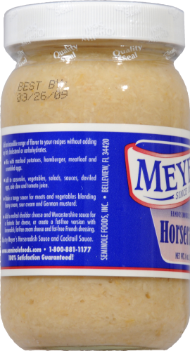 Meyer's Ground Horseradish Perspective: left
