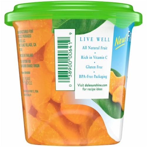 Dole Fridge Pack Mandarin Oranges in Fruit Juice Perspective: left